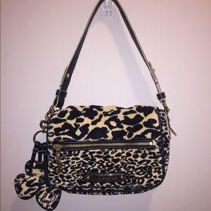 Juicy Couture Leopard Velour Purse
